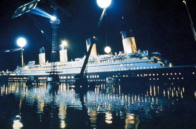 Behind the scenes of Titanic the movie 12