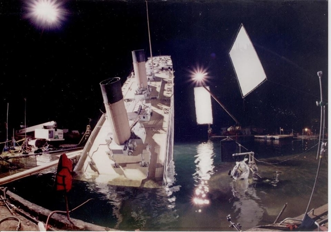 Behind the scenes of Titanic the movie 13