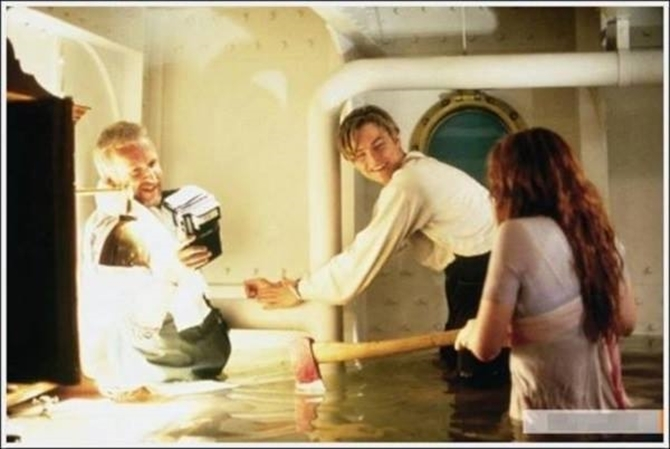 Behind the scenes of Titanic the movie 2