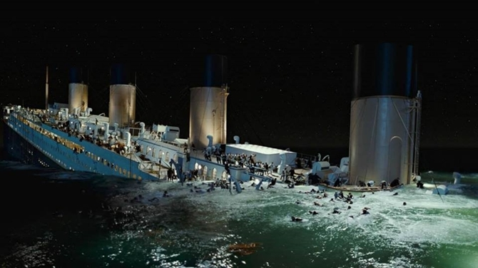 Behind the scenes of Titanic the movie 4
