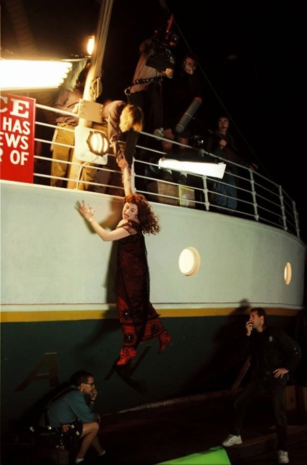 Behind the scenes of Titanic the movie 9