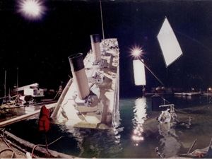 Behind the scenes of Titanic the movie