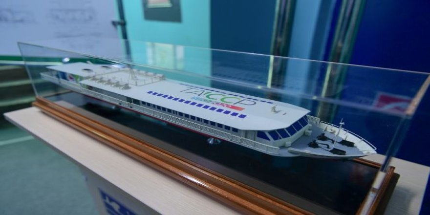 Russia Builds its first LNG passenger ship