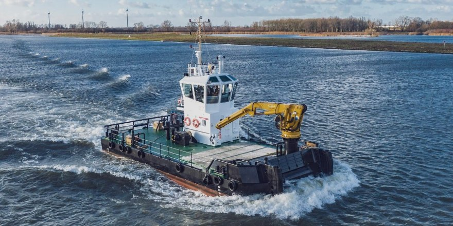 Damen has signed a contract with S. Walsh & Sons