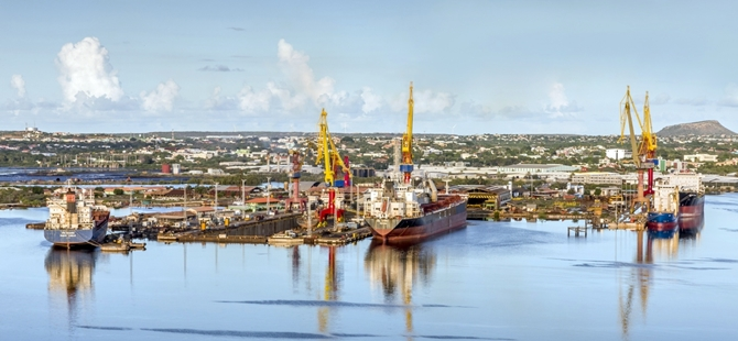 Damen takes position in the Caribbean