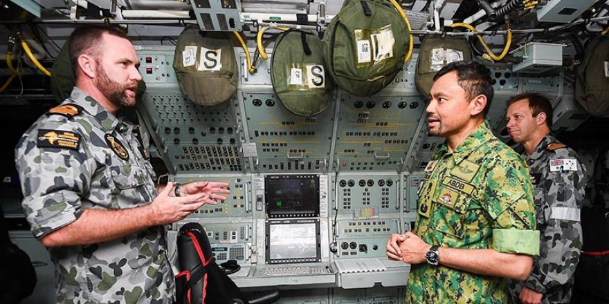 First Australian submarine visit to Brunei