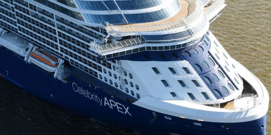 Celebrity Cruises takes the delivery of Celebrity Apex