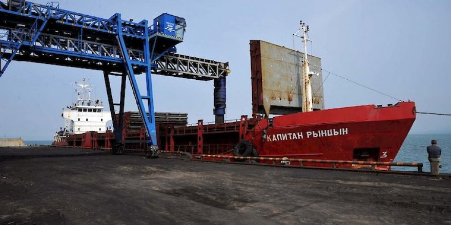 Navigation season starts at Coal Sea Port of Shakhtersk