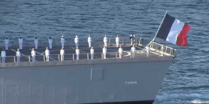 French Navy's LHD Dixmude set sails for coronavirus