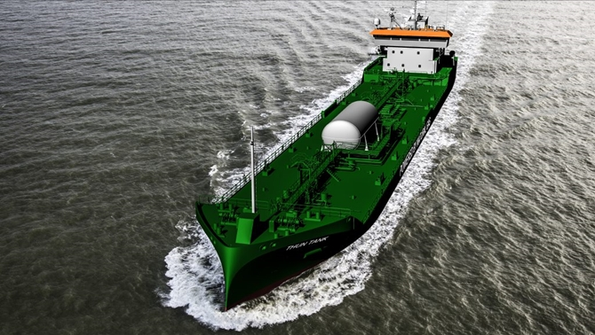 Thun Tankers has ordered four coastal tankers