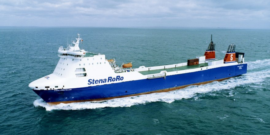 Stena RoPax Ferry becomes a hospital ship