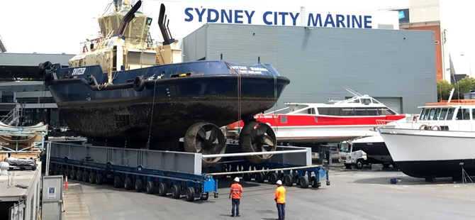 First collaboration for Sydney City Marine and Damen