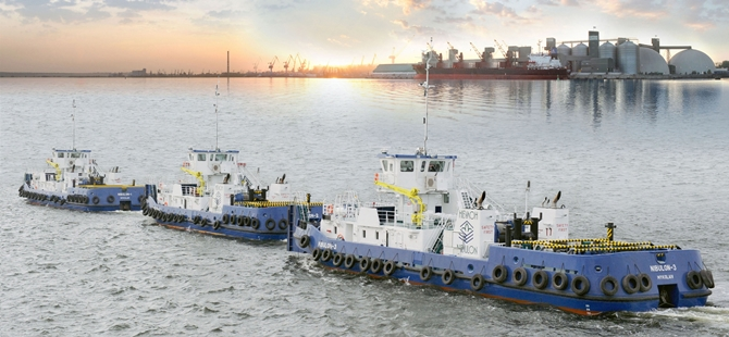 ACO Claimers Delivered For Installation On Newhigh-Specification Nibulon Tugs