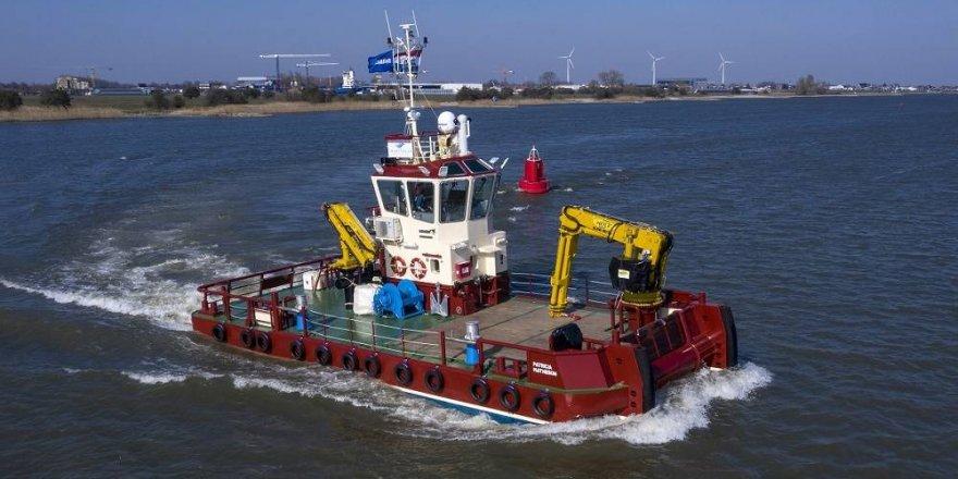 Damen Group delivers a vessel to Inverlussa Marine Services