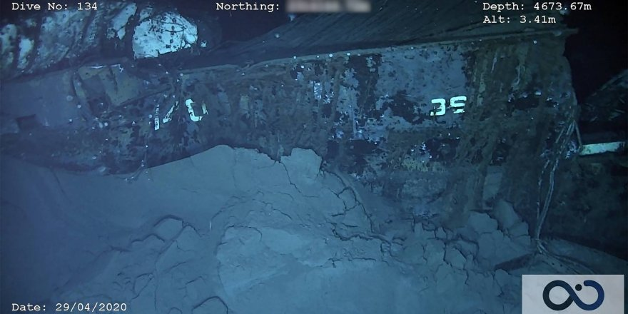 Shipwreck of USS Nevada located