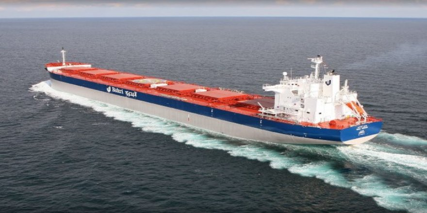Hyundai hands over first of four new bulkers to Bahri