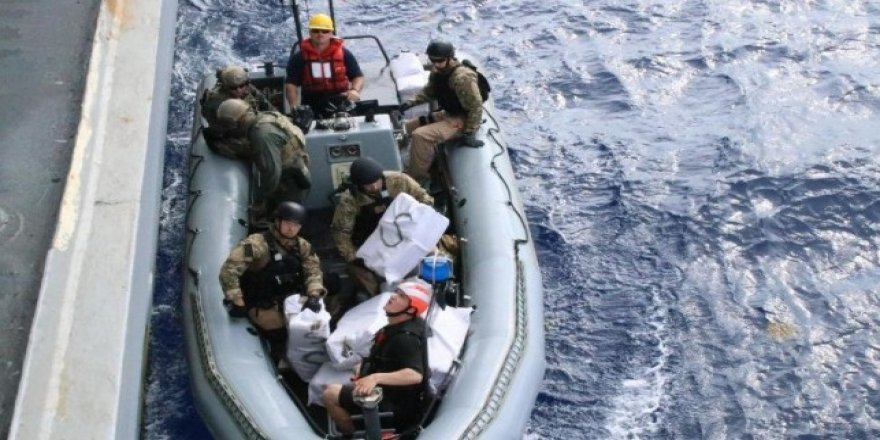 U.S. Navy destroyer finds 3,500 pounds of marijuana