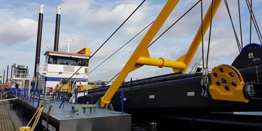 Damen unveils its first Electric Cutter Suction Dredger