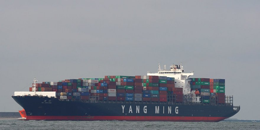CSBC held a naming ceremony for Yang Ming's two newbuilds