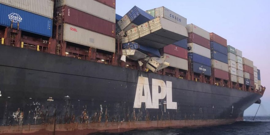 APL England detained after losing containers in Australia