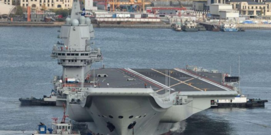 China's second aircraft carrier leaves shipyard for trials