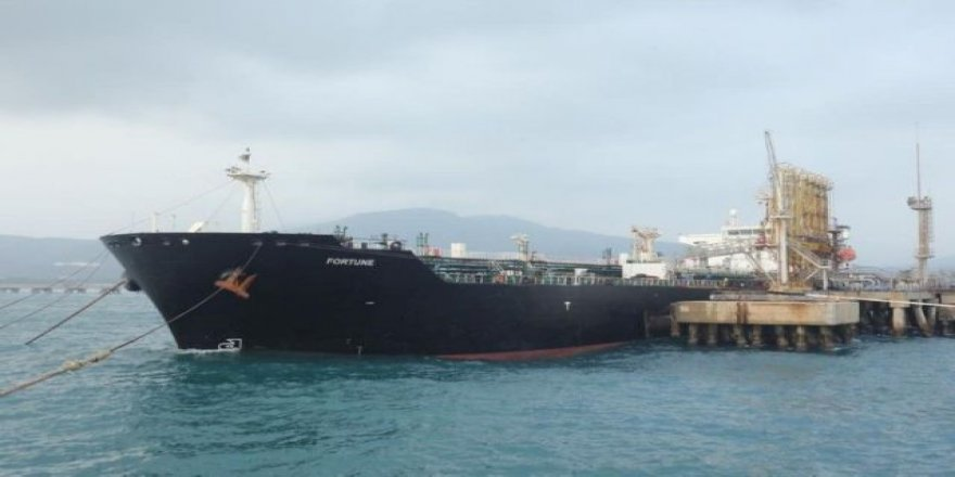 Two Iranian tankers sail back after shipping to Venezuela