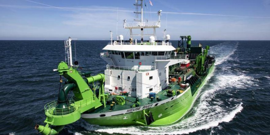 DEME Group's newbuild dredger completes sea trials