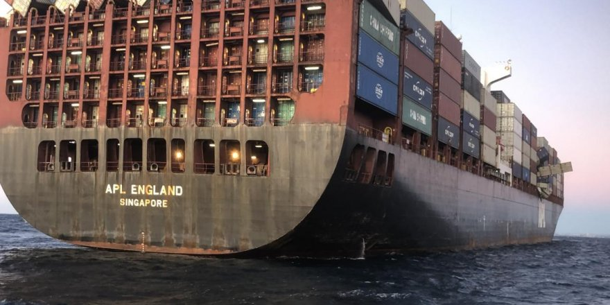 Captain of APL England charged over lost containers