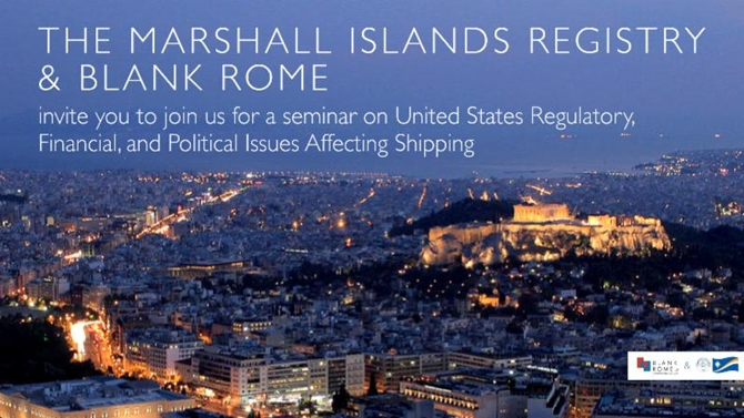 The Marshall Islands Registry & Blank Rome