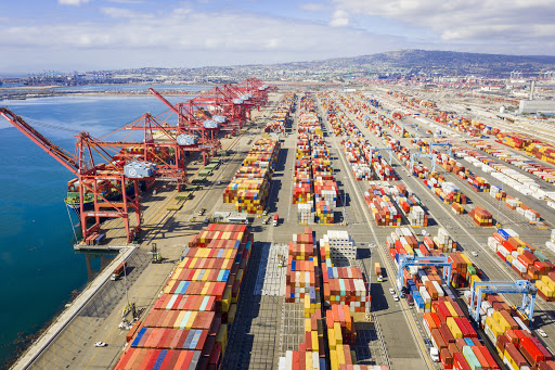 Cargo shipments on rise at the Port of Long Beach