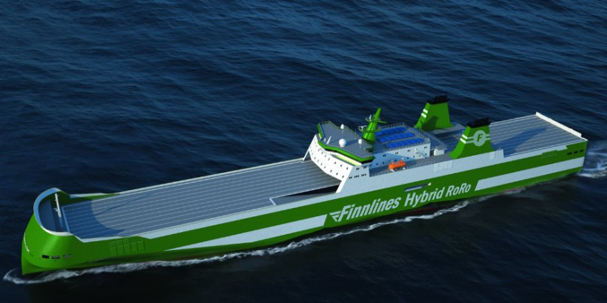 Construction of Finnlines' hybrid RoRo vessel started