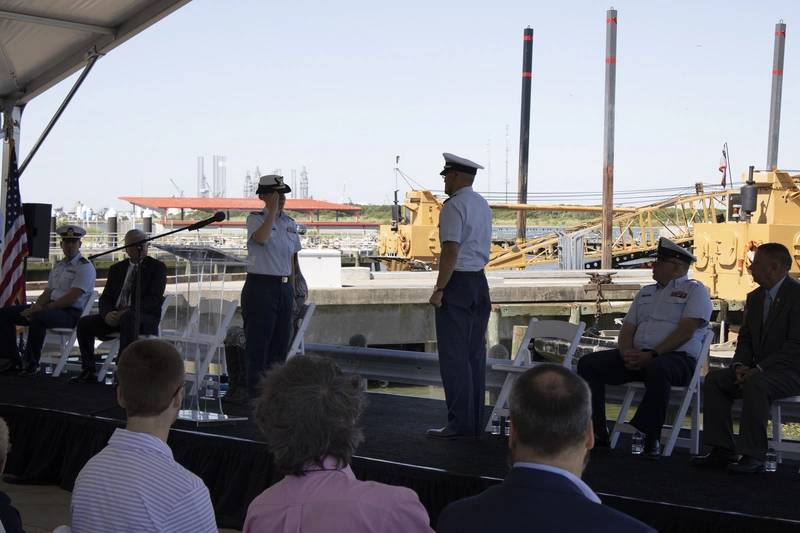 USCG held commissioning ceremony for Edgar Culbertson