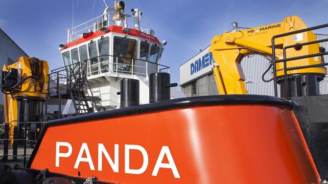 Damen Multi Cat 2712 will join the fleet in March