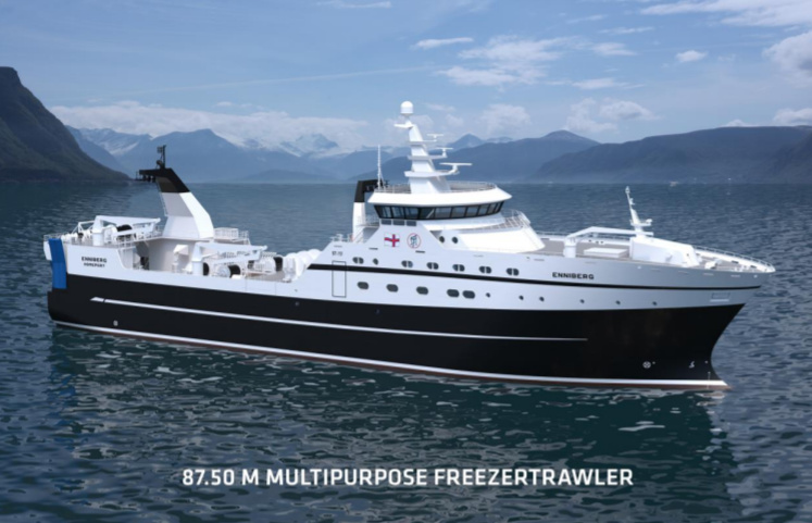 Tersan Shipyard announces the new contract with P/F Havborg