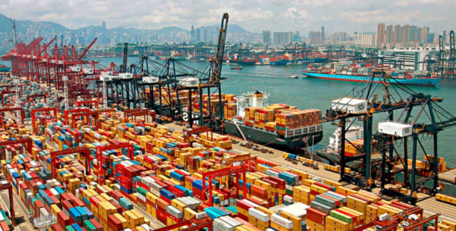 Container volumes at major Chinese ports declined 1%