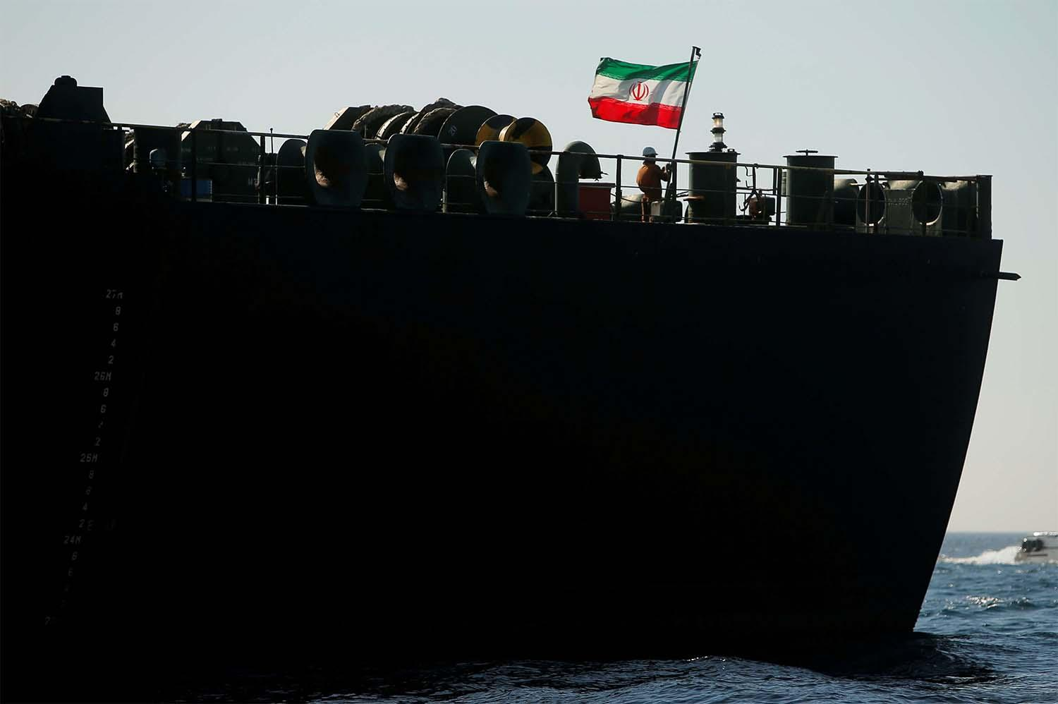 Another Iranian ship sails away to Venezuela