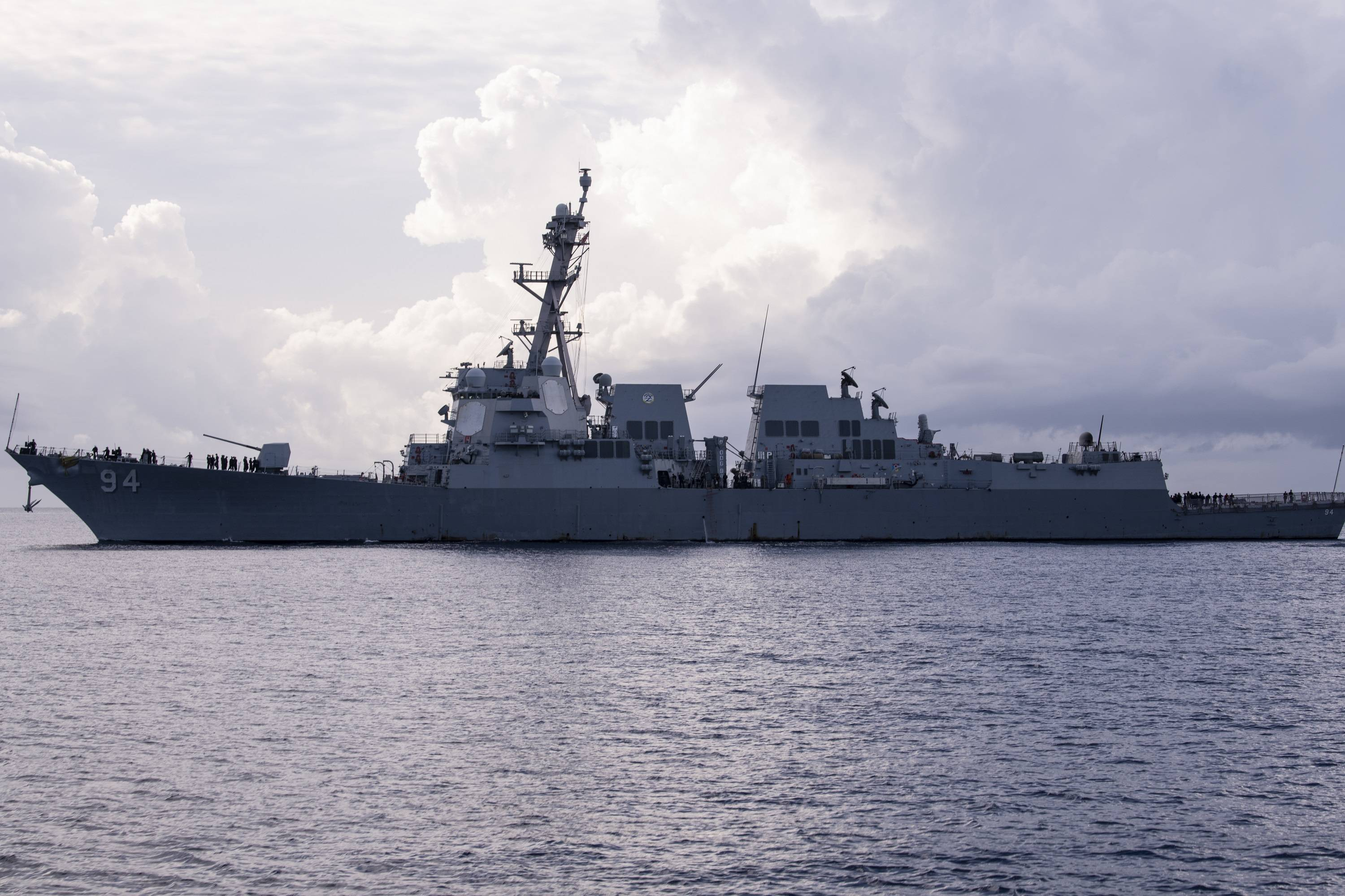 US warship sails near Venezuela after arriving of Iranian ships
