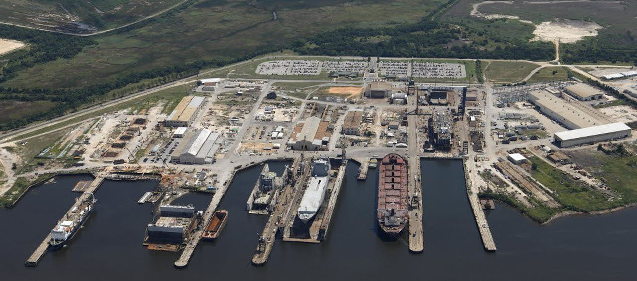 Alabama Shipyard received $23M contract for USNS Supply