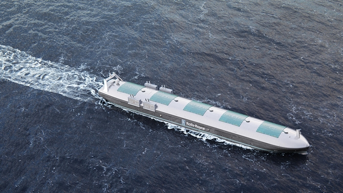 Rolls-Royce, TCOMS to Develop Smart Ships