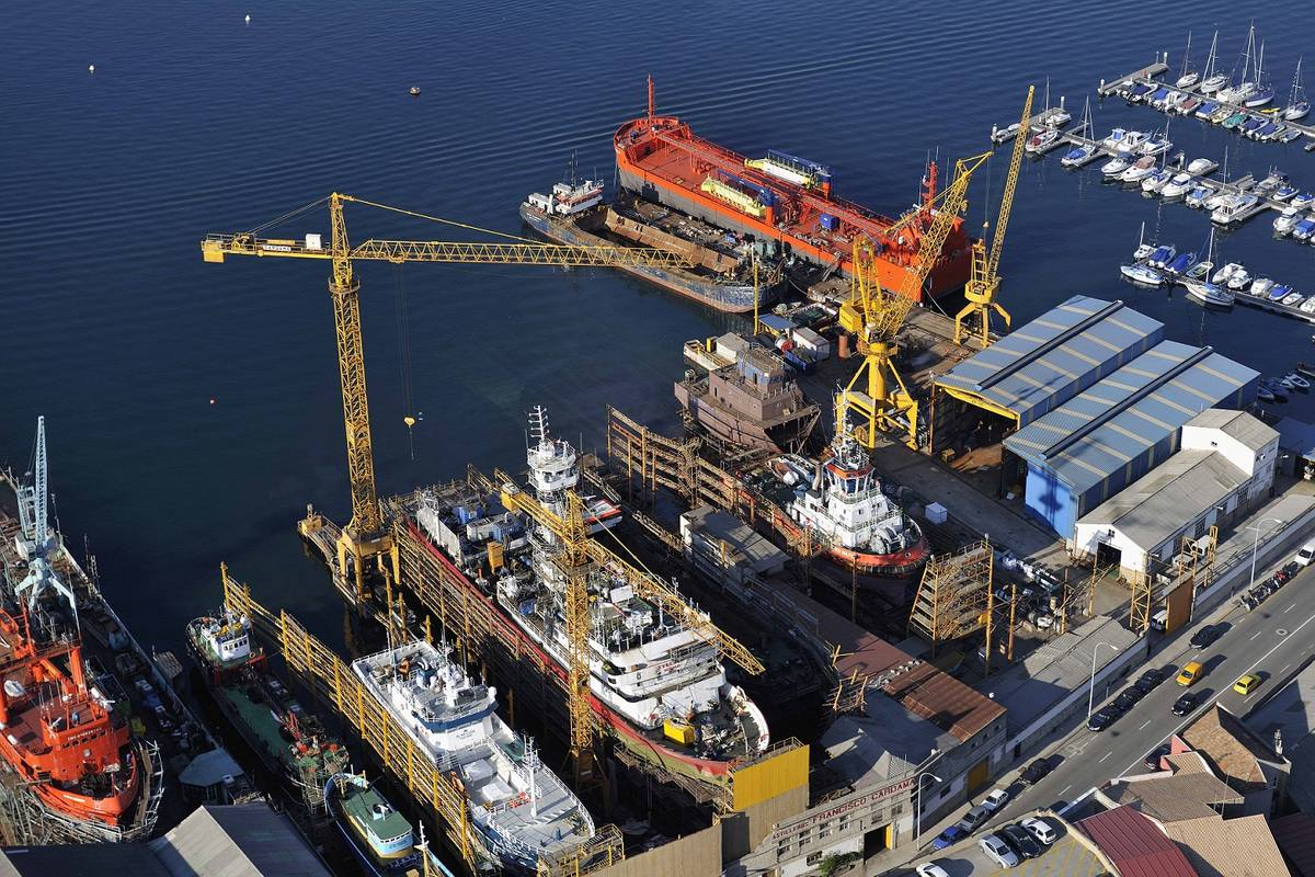 Spain's Cardama Shipyard  completed its 1000th ship repair project