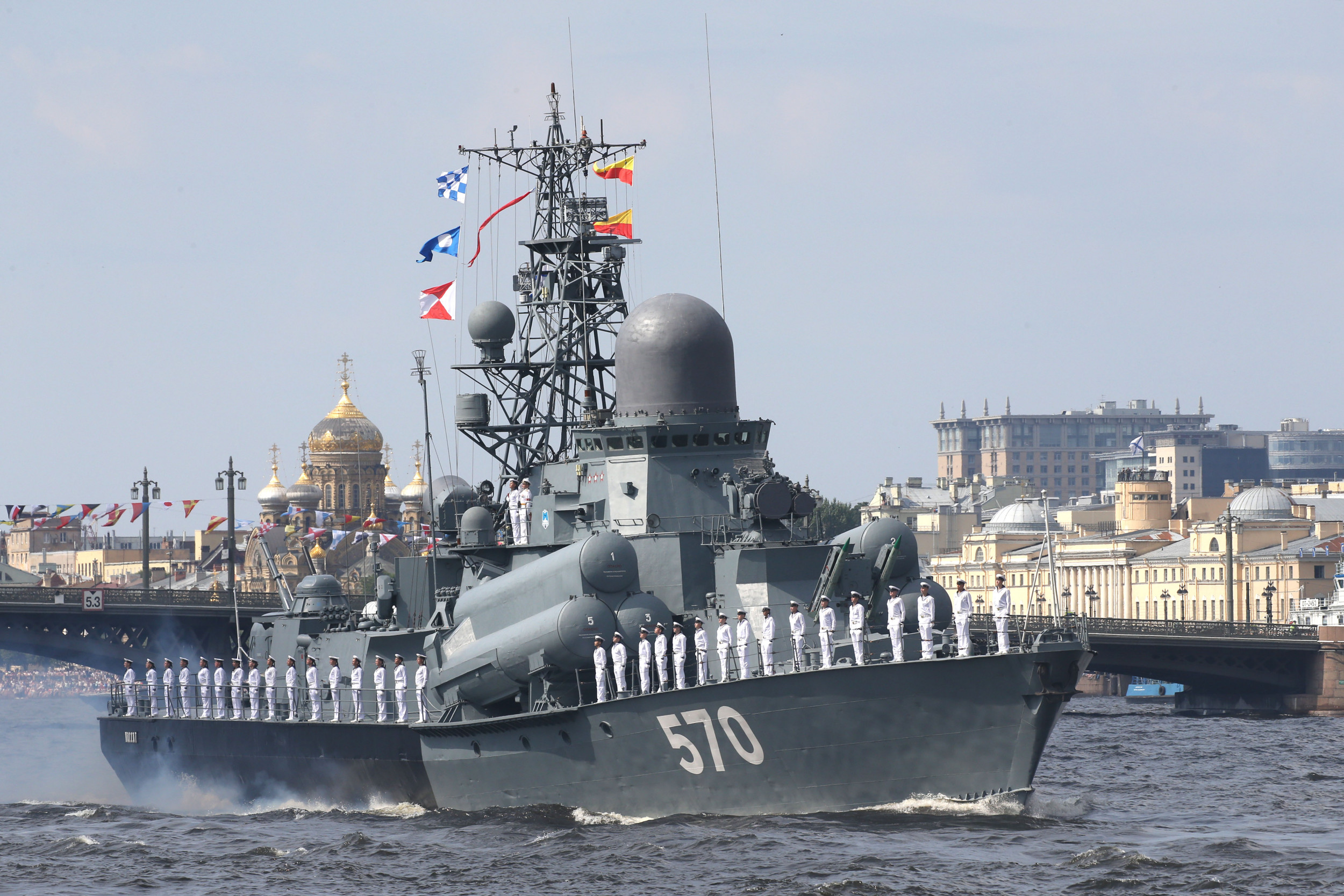 Russian Navy to receive more than 40 ships in 2020