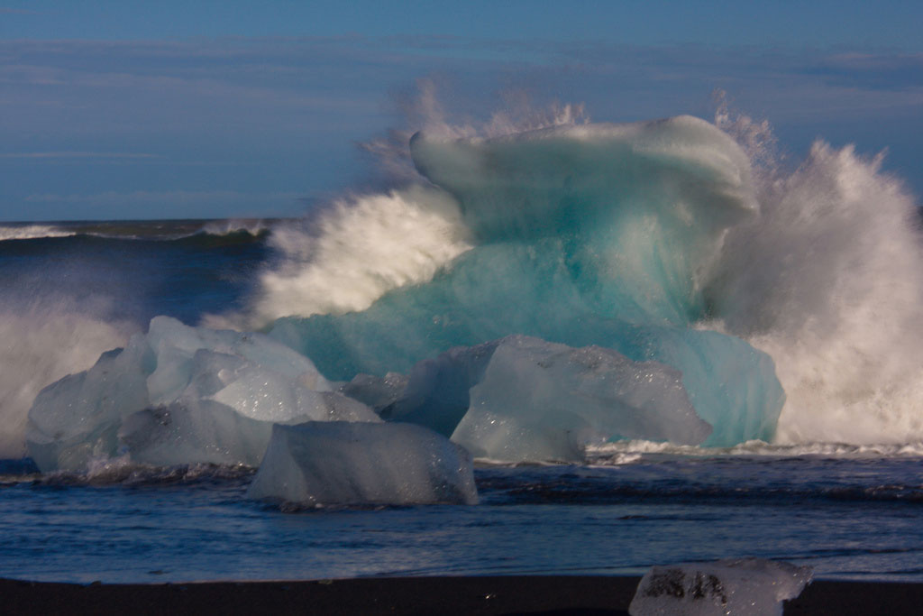 Climate change may cause intense waves in Arctic