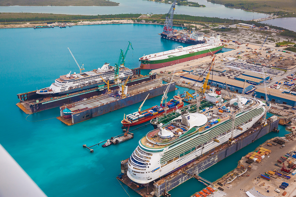 Grand Bahama Shipyard reopens