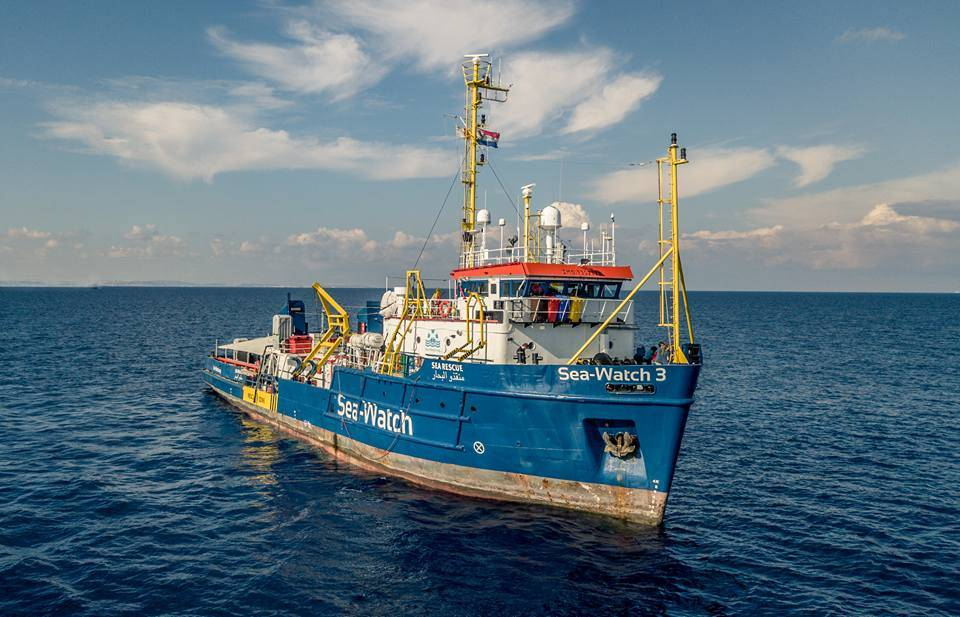 Italian authorities seizes charity rescue vessel