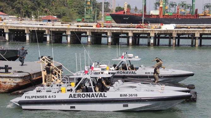 Eight Damen Interceptors for Panama