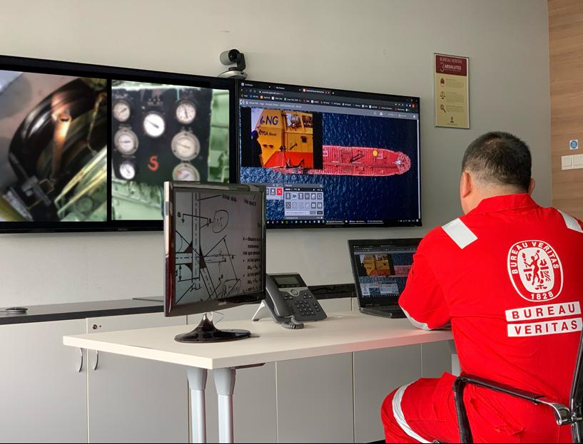 Bureau Veritas opens remote survey center in Singapore