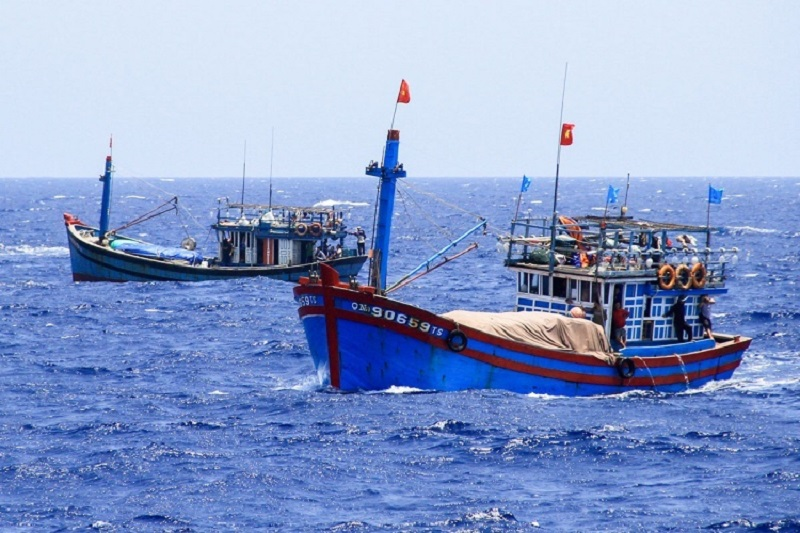 Vietnamese fishing boat arrested in the Gulf of Thailand