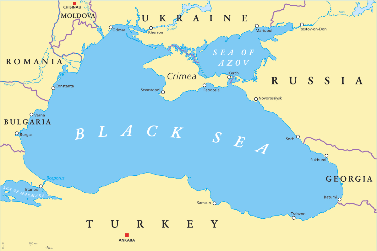 Ukraine and Turkey discuss situation in Azov-Black Sea region