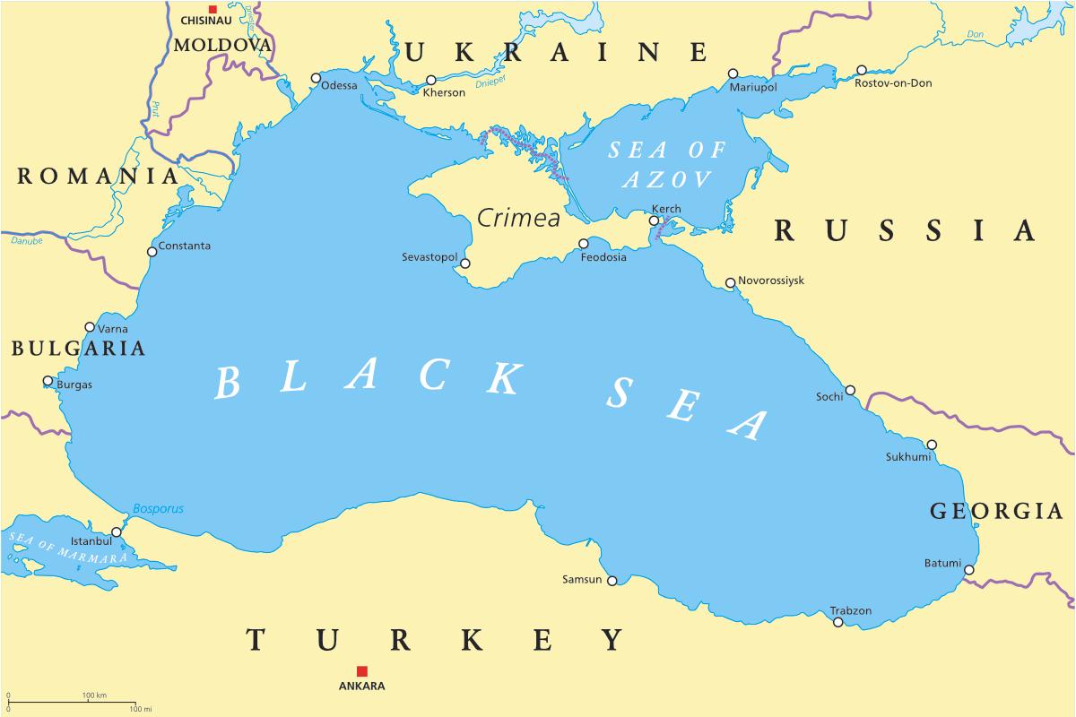 Ukraine and Turkey discuss situation in Azov-Black Sea region