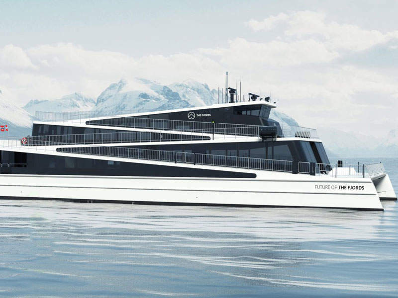 The Fjords to receive its second all-electric passenger ship